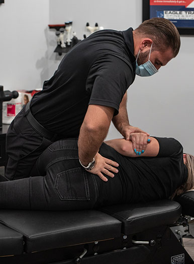 Chiropractic Burnsville MN Low Back Adjustment